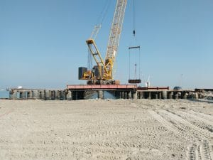 Ashdod, Israel, Berth Scour Protection