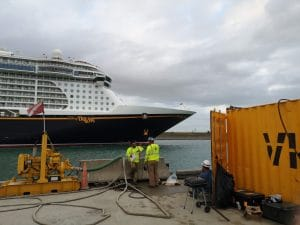 Port Canaveral, Berth Scour Protection