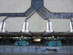 Foundations to Precast Marine Structures